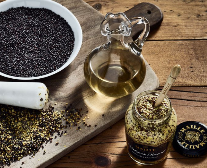 The making of Old Style Wholegrain Mustard