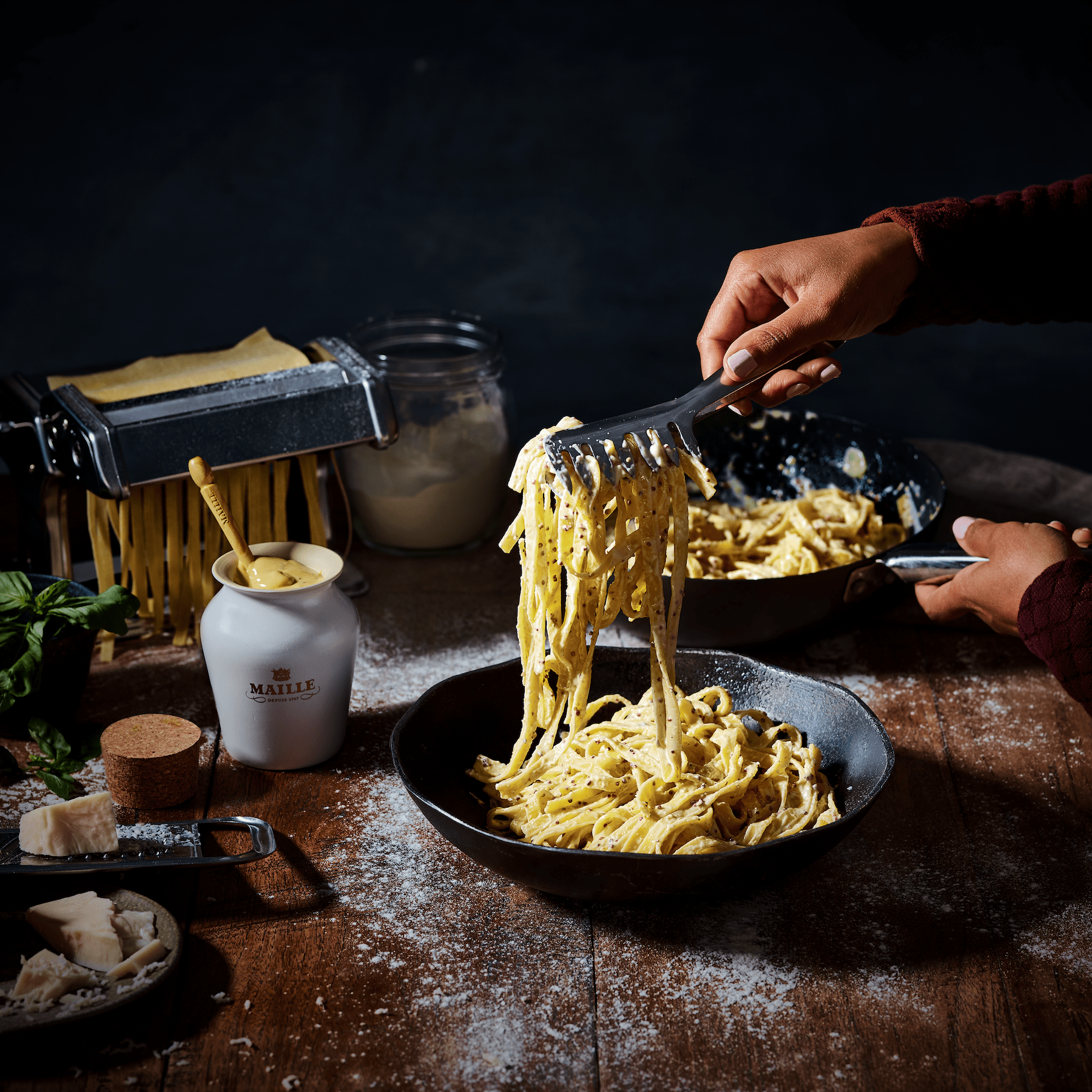 White truffel and parmasan pasta 1