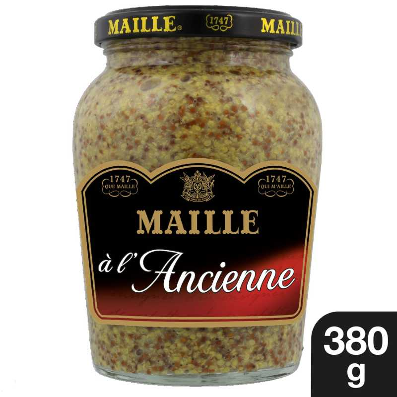 Maille Moutarde a l ancienne Bocal 380g 1