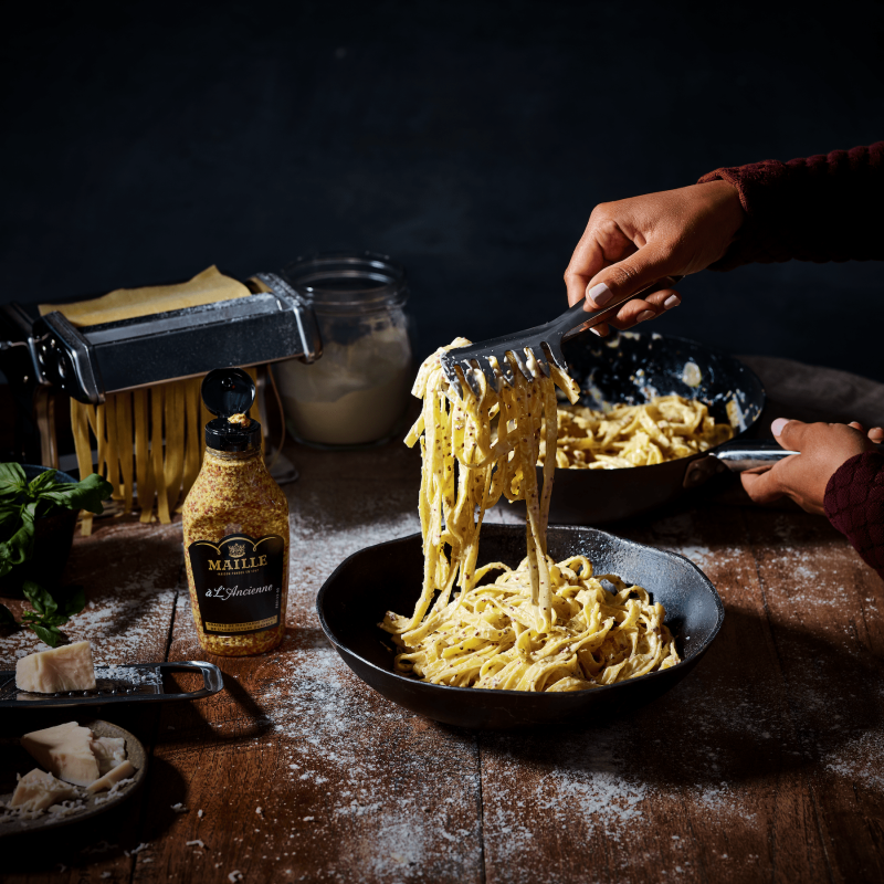 White truffel and parmasan pasta 3