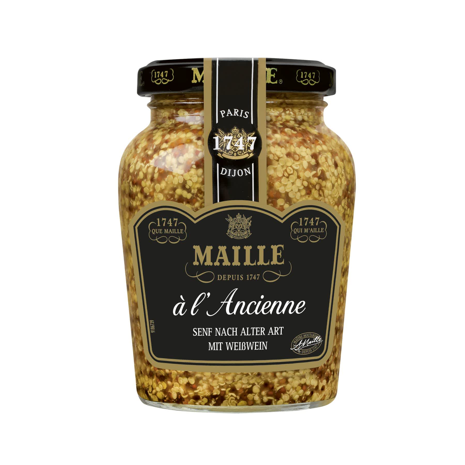 Maille Moutarde a l'Ancienne 210g, overview