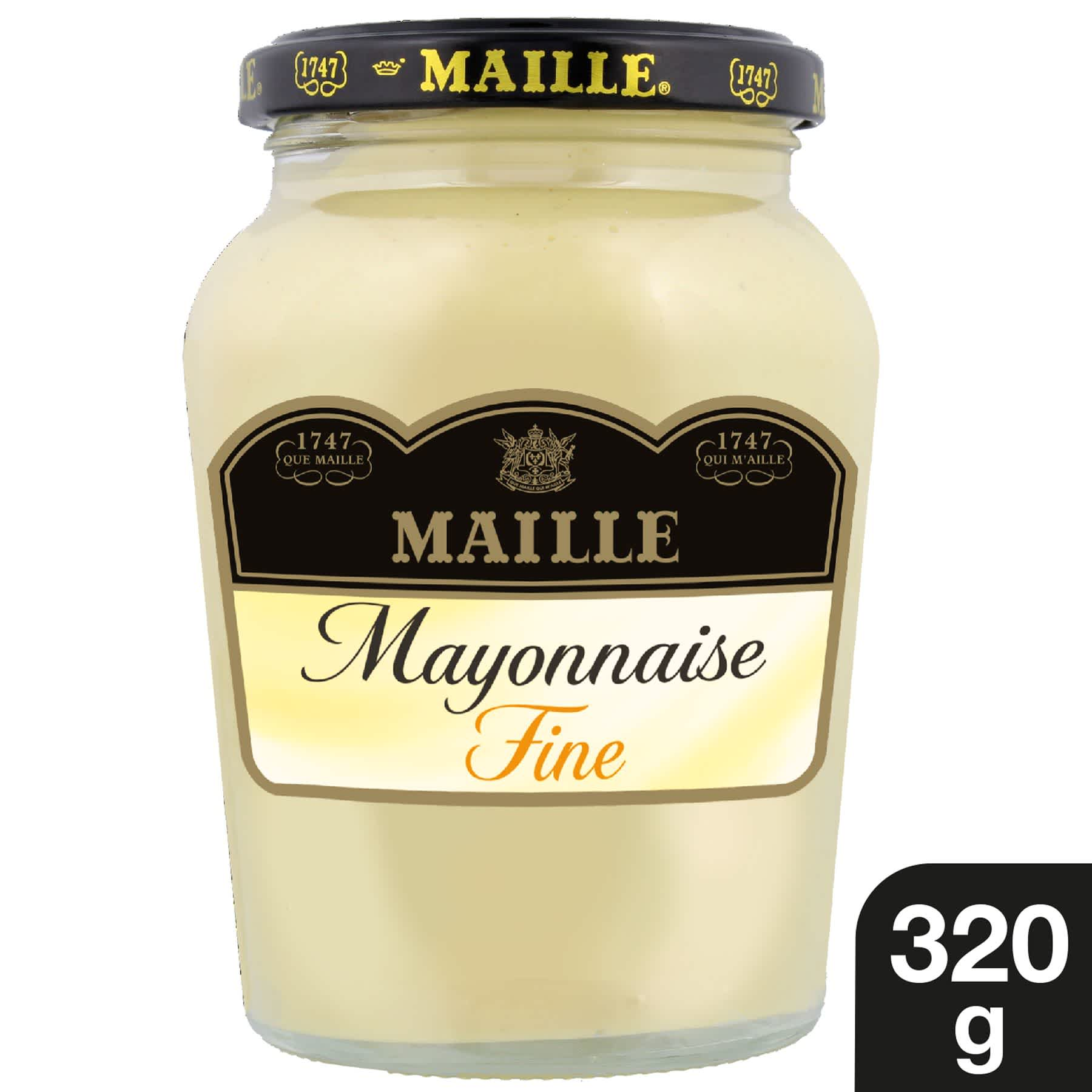 Maille Mayonnaise Fine Qualite Traiteur Bocal 320g 1