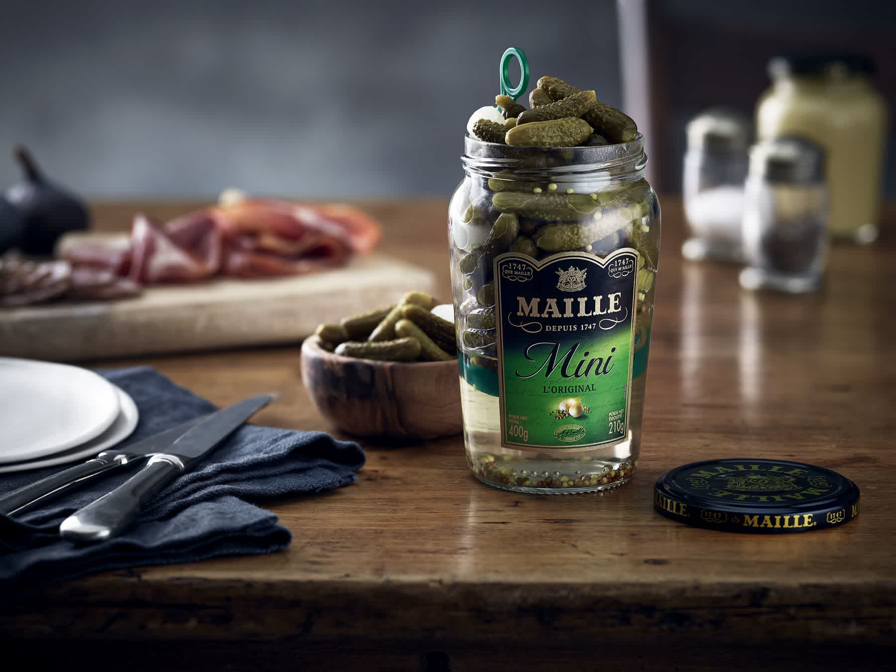 Maille - Cornichon mini l'original, 210 g, recipe