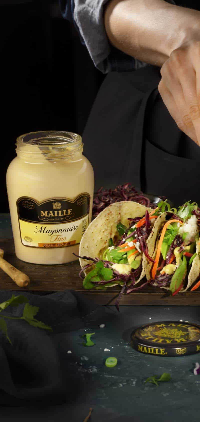 Maille Q2 Taco Square Mass 1 / OPT G
