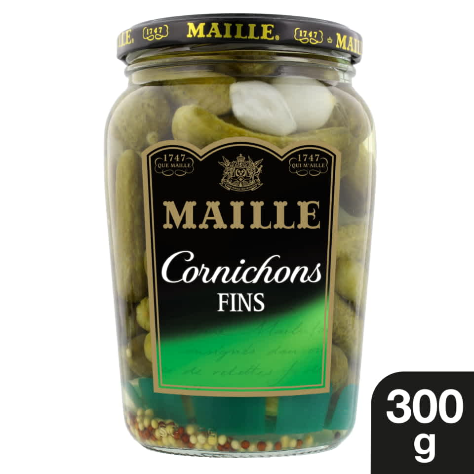 Maille - Cornichons Fins Bocal 300 g