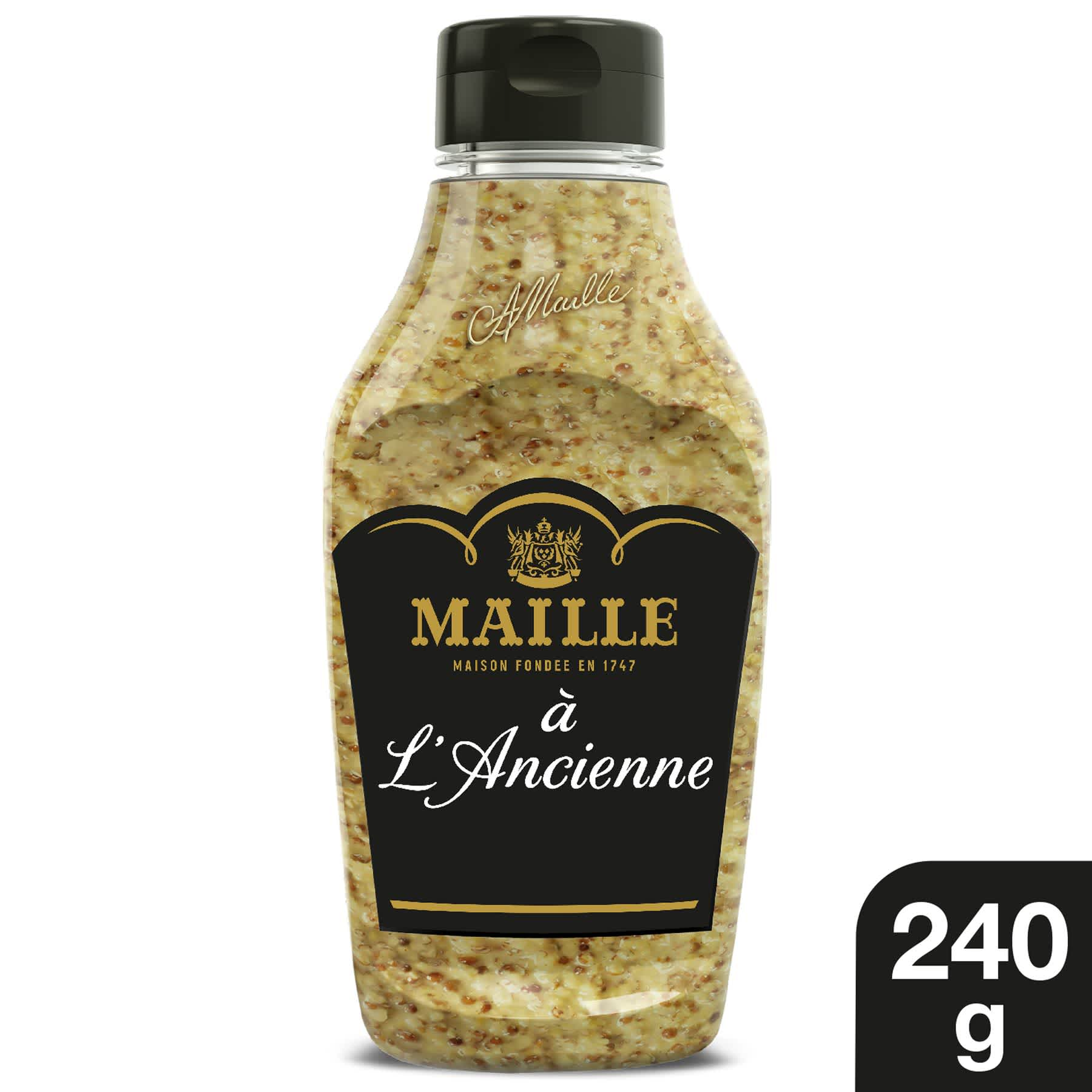 Maille - Moutarde à l'Ancienne Flacon Souple 240 g