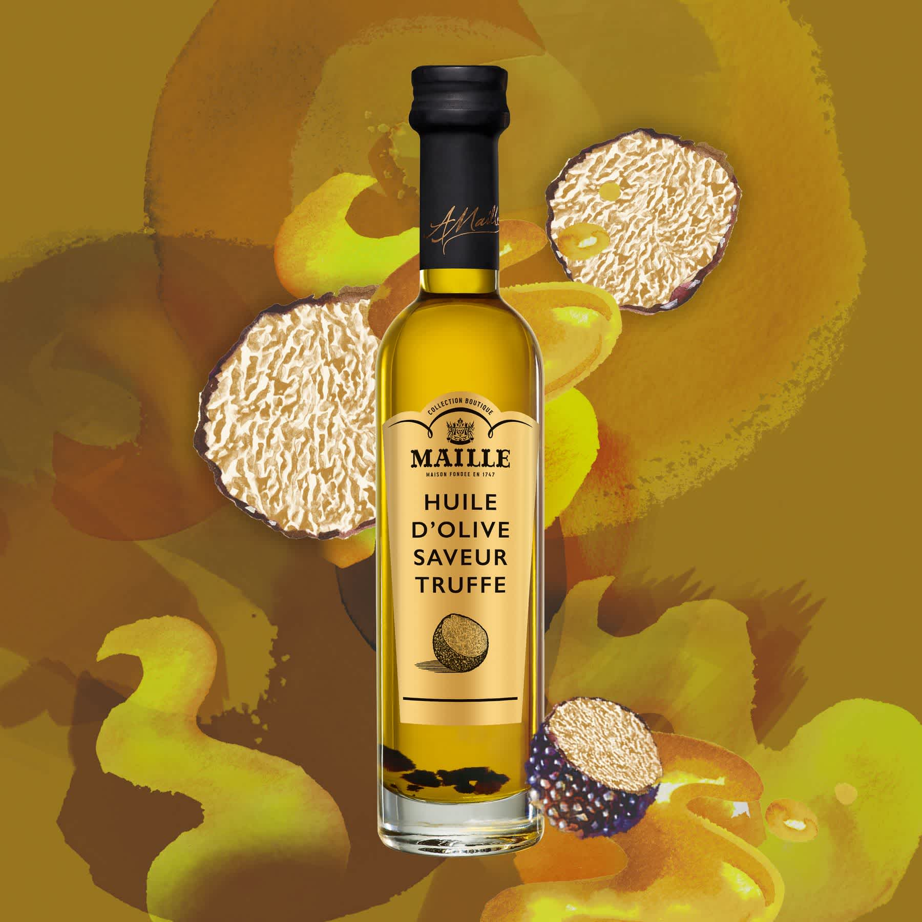 Maille Huile d olive saveur truffe 100ml 1