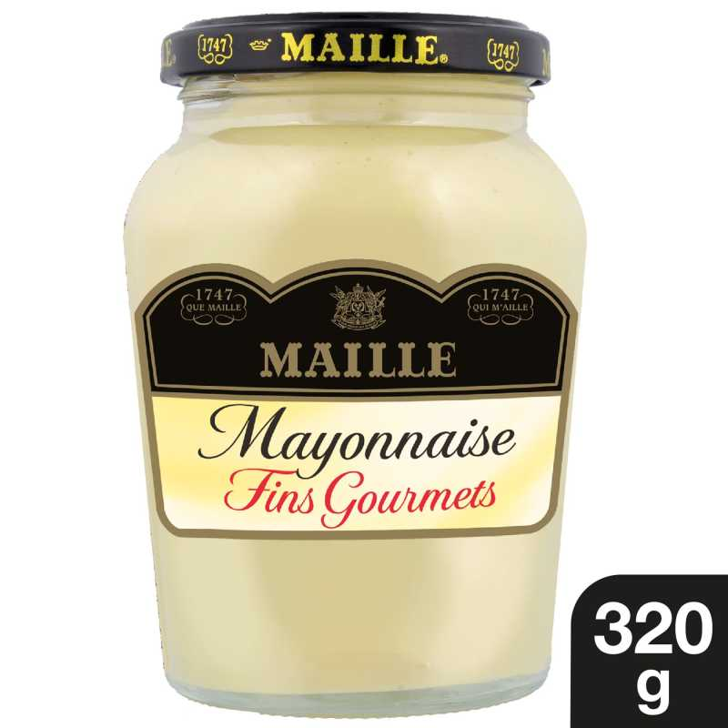 Maille Mayonnaise Fins Gourmets Bocal 320g 1