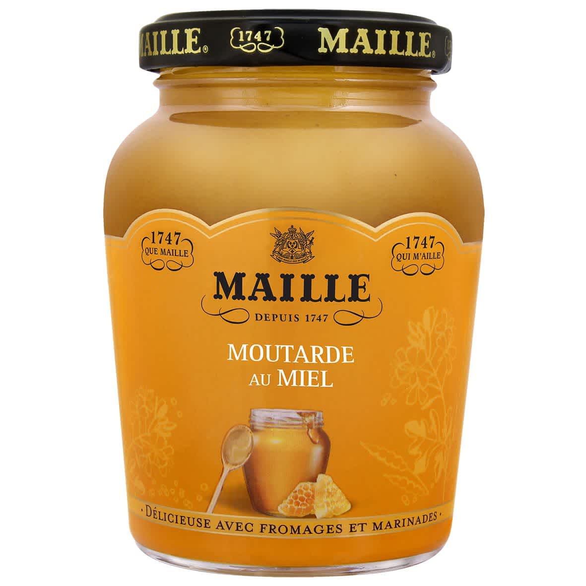 Maille - Moutarde Au Miel Bocal 230 g, overview