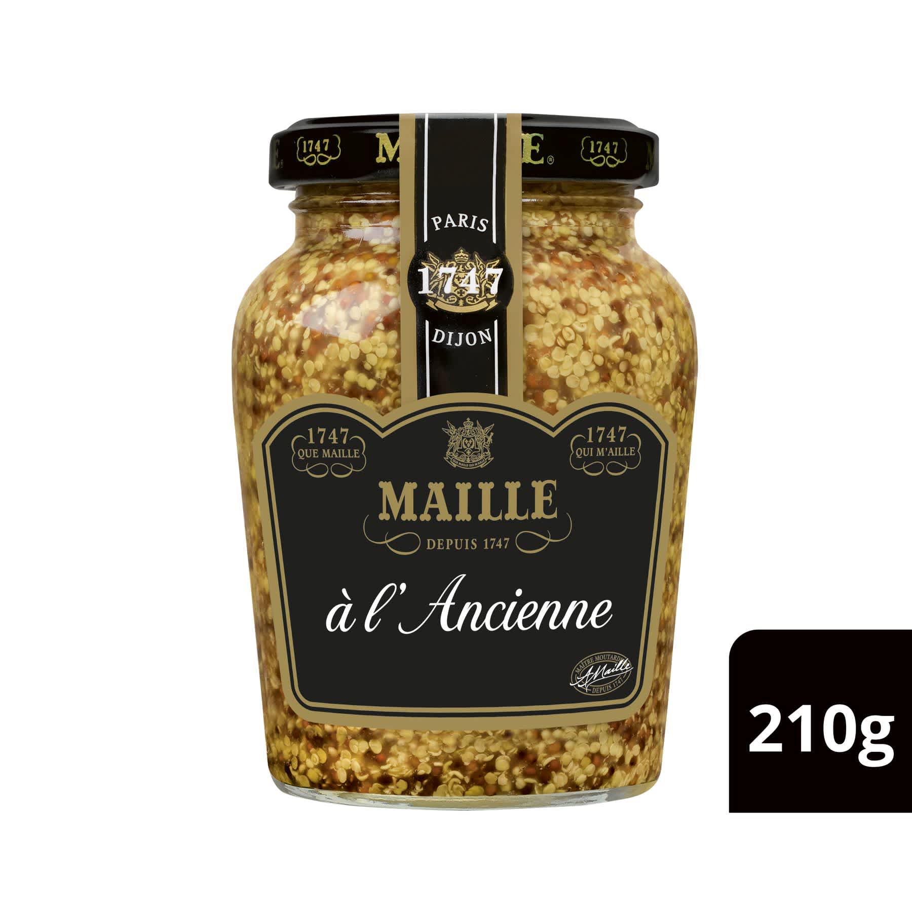 Maille Moutarde a l Ancienne 215g 1
