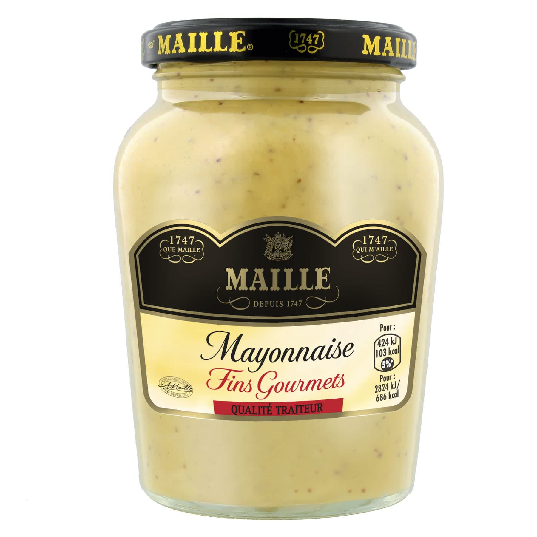 Maille - Mayonnaise Fins Gourmets Bocal 320 g, overview