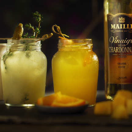 Maille Mango Mocktail, vinegair