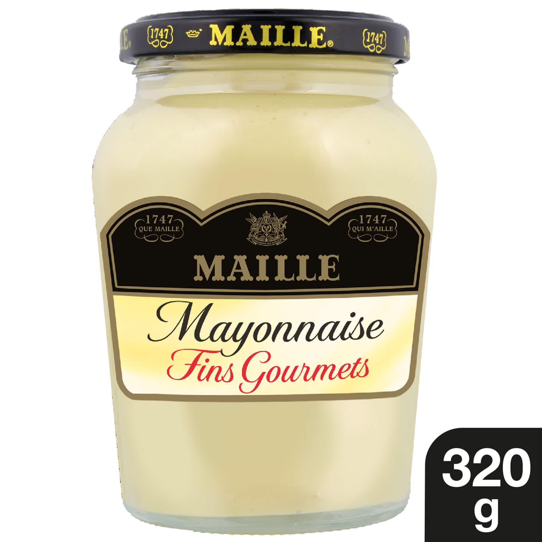Maille - Mayonnaise Fins Gourmets Bocal 320 g