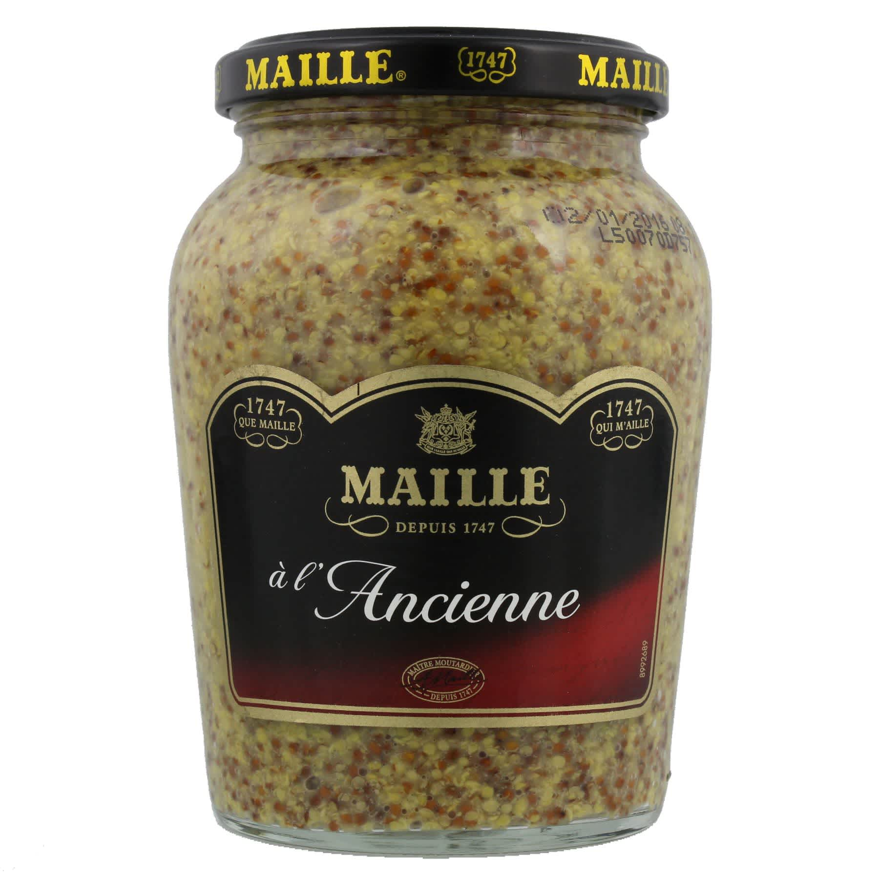 Maille - Moutarde à l'Ancienne Bocal 380 g, overview