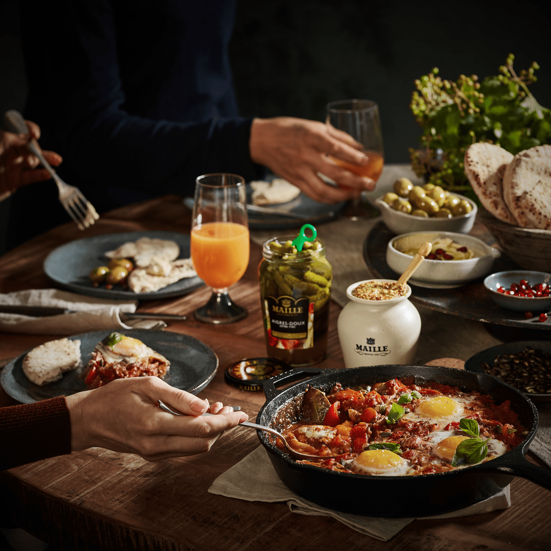Maille - Shakshuka Maille gourmet