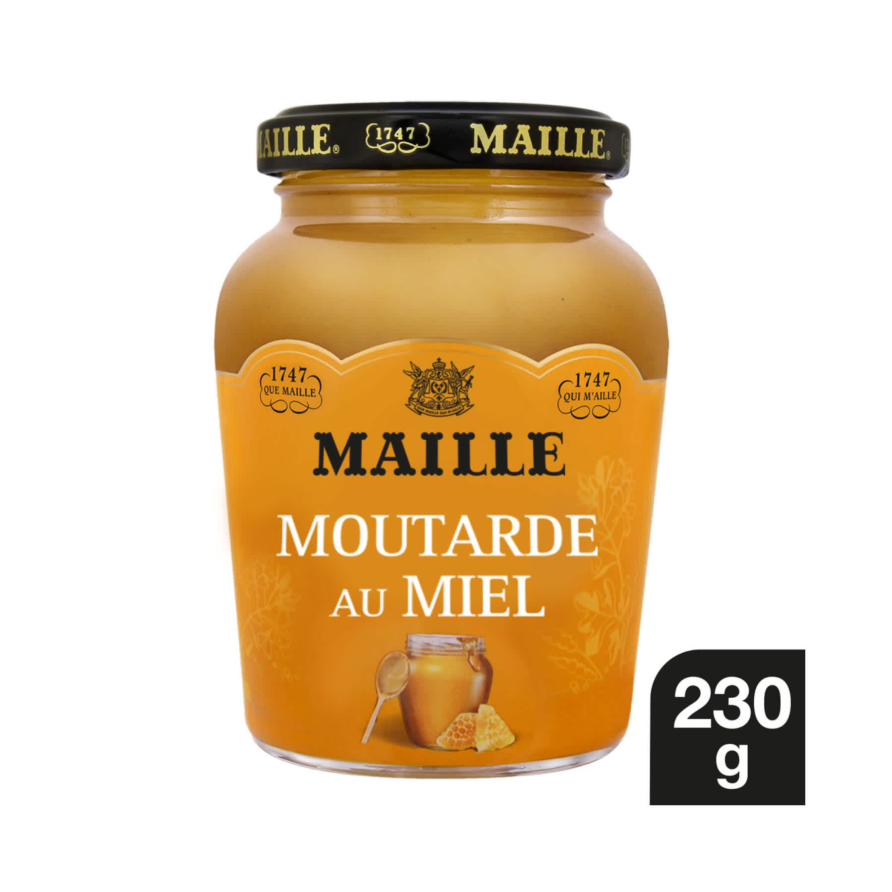 Maille - Moutarde Au Miel Bocal 230 g