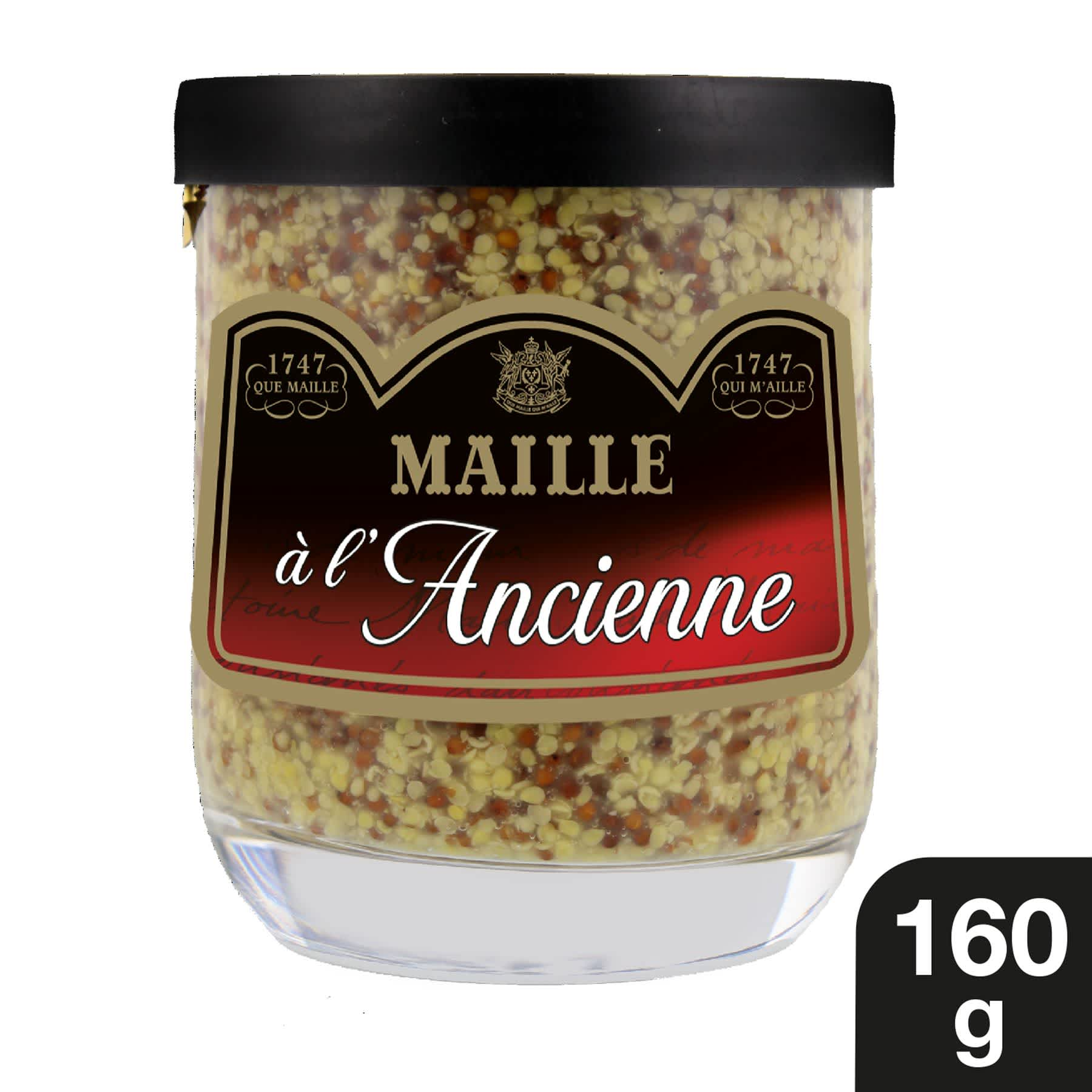 Maille Moutarde a l Ancienne Verrine 160g 1