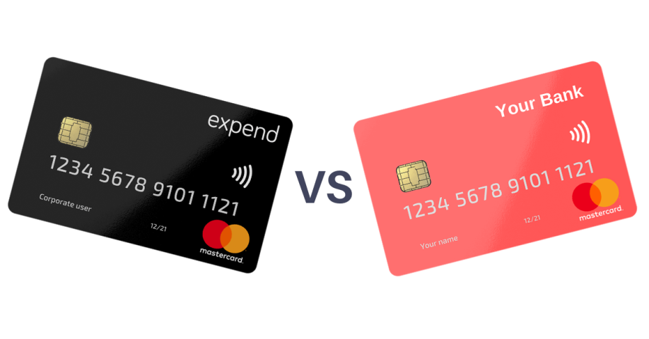 The advantages of doing expenses with an Expend card vs a Company card