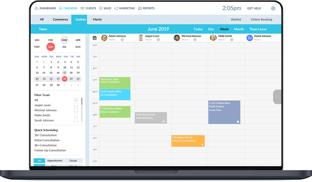 Better Bookings Xero Add On Online Calendar   Adam Lever