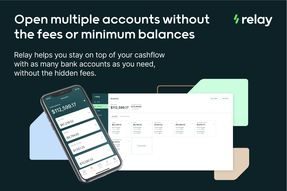 Relay Xero Bank