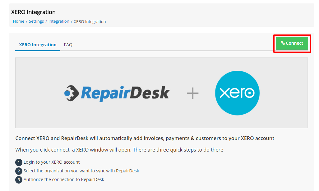 XERO update iii 1   Repair Desk