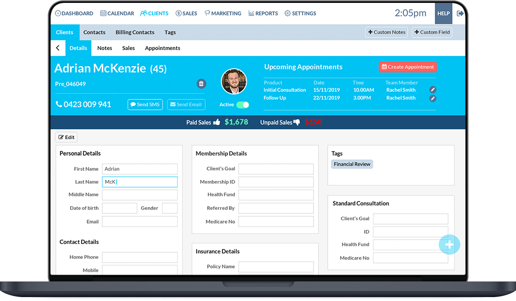 Better Bookings Xero Add On Online CRM   Adam Lever
