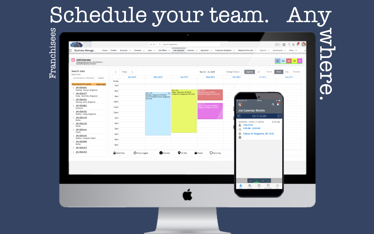 2  Schedule   Support @ Franchise Cloud Solutions