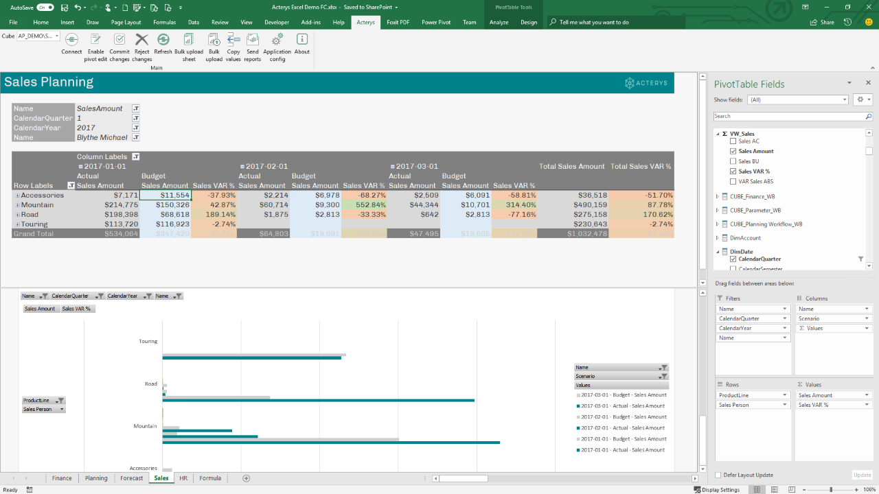 Excel Integration Sales 1280x720   Martin Kratky