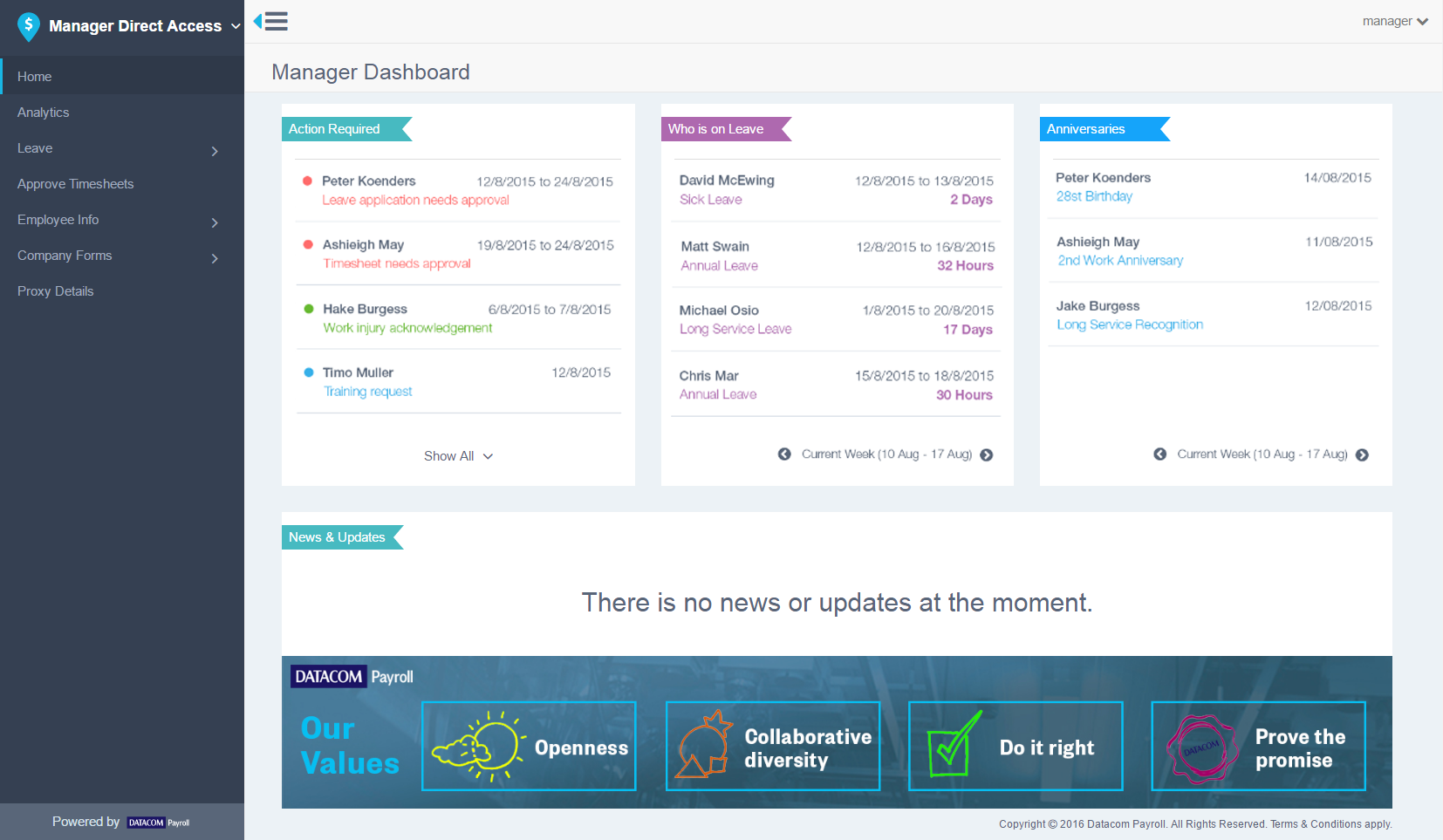 5 Direct Acess Manager Dashboard   Justin Cheong