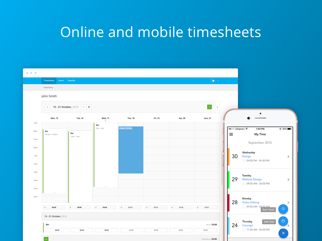 FlexiTime   Timesheets