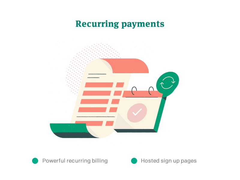 3 recurring payments   Jared King