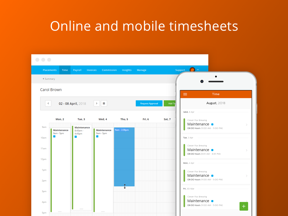Invoxy   Timesheets   Jake Harvey