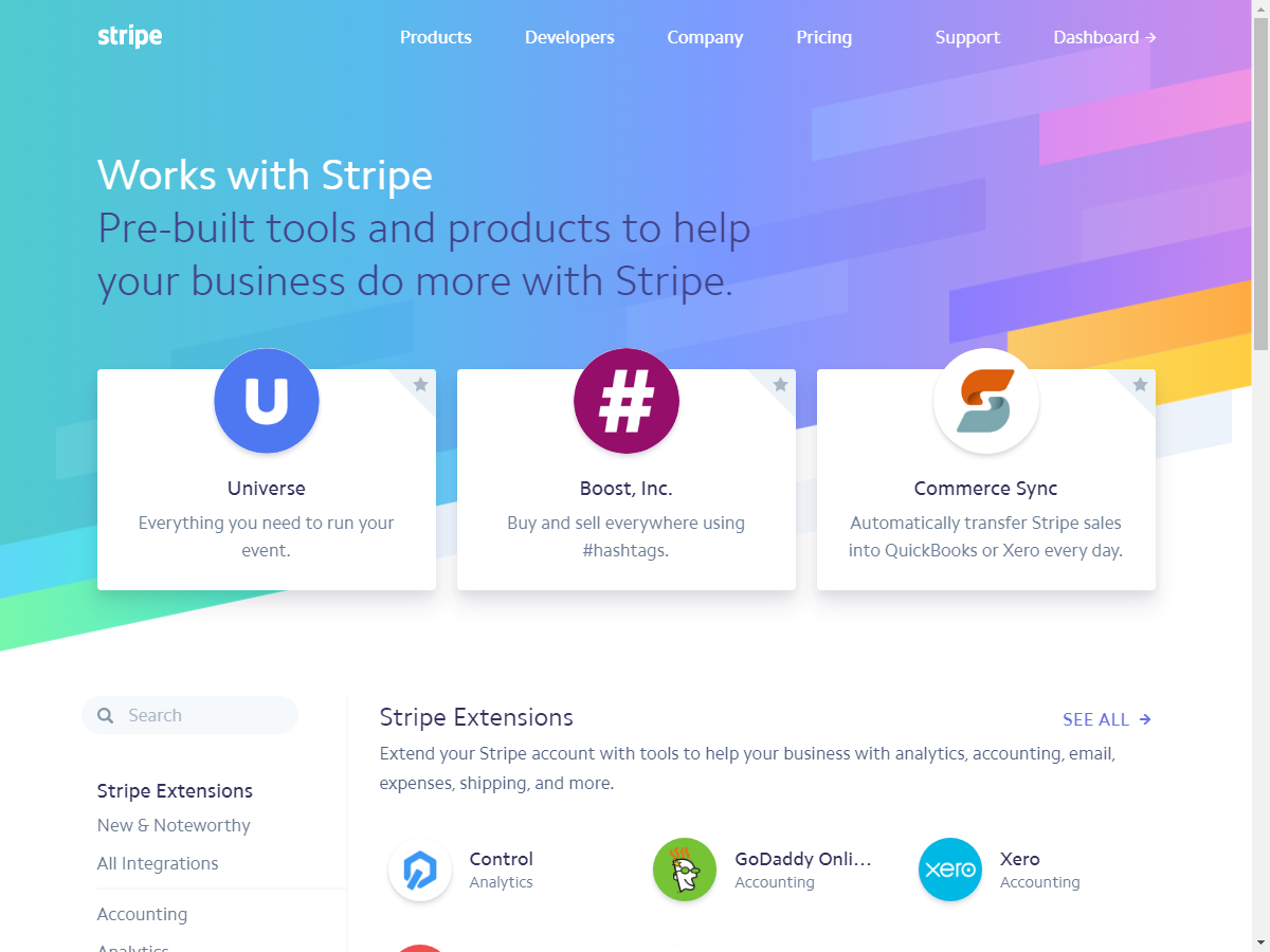 Stripe by Commerce Sync 1