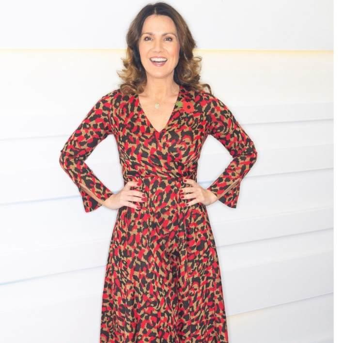 Susanna Reid, dress,