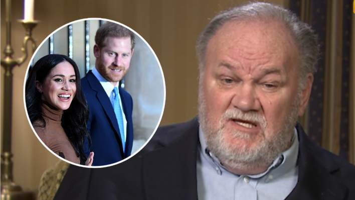 Thomas Markle and Prince Harry and Meghan