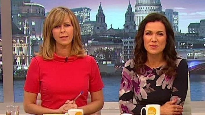 Get Kate And Susanna S Look Good Morning Britain