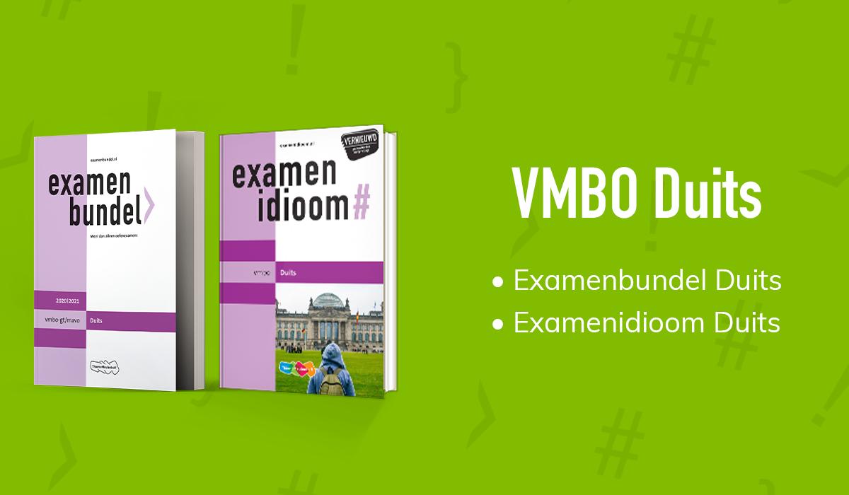 Examen vmbo-gt/mavo Duits halen met Examenbundel
