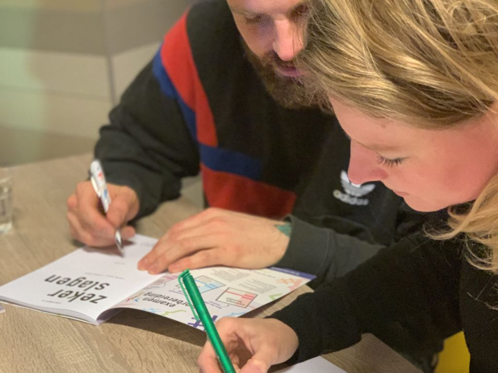Boeklancering Zeker Slagen! met Eva Gadet en Tim Hofman