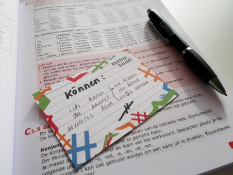 flashcards examenbundel examenvoorbereiding leerstrategie leren slagen eindexamen
