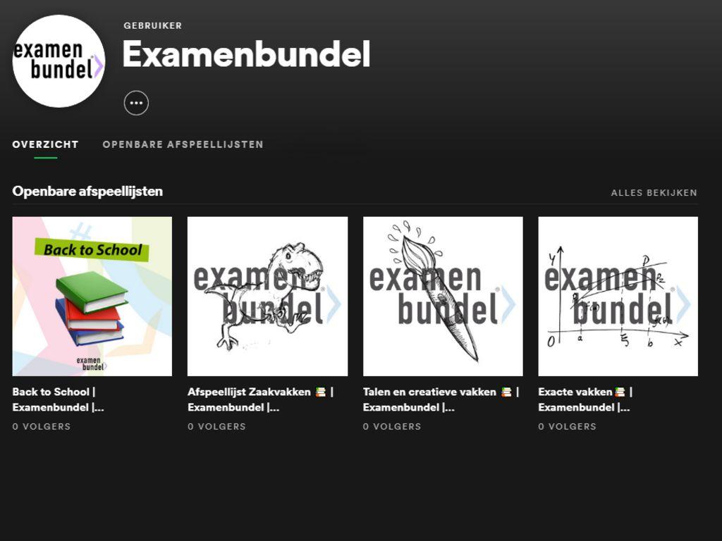 examenbundel-examenvoorbereiding-spotify-afspeellijst-muziek-leren-leermuziek