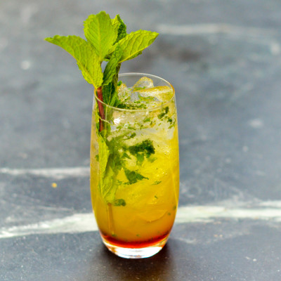 An Italian cocktail made with fresh ingredients.