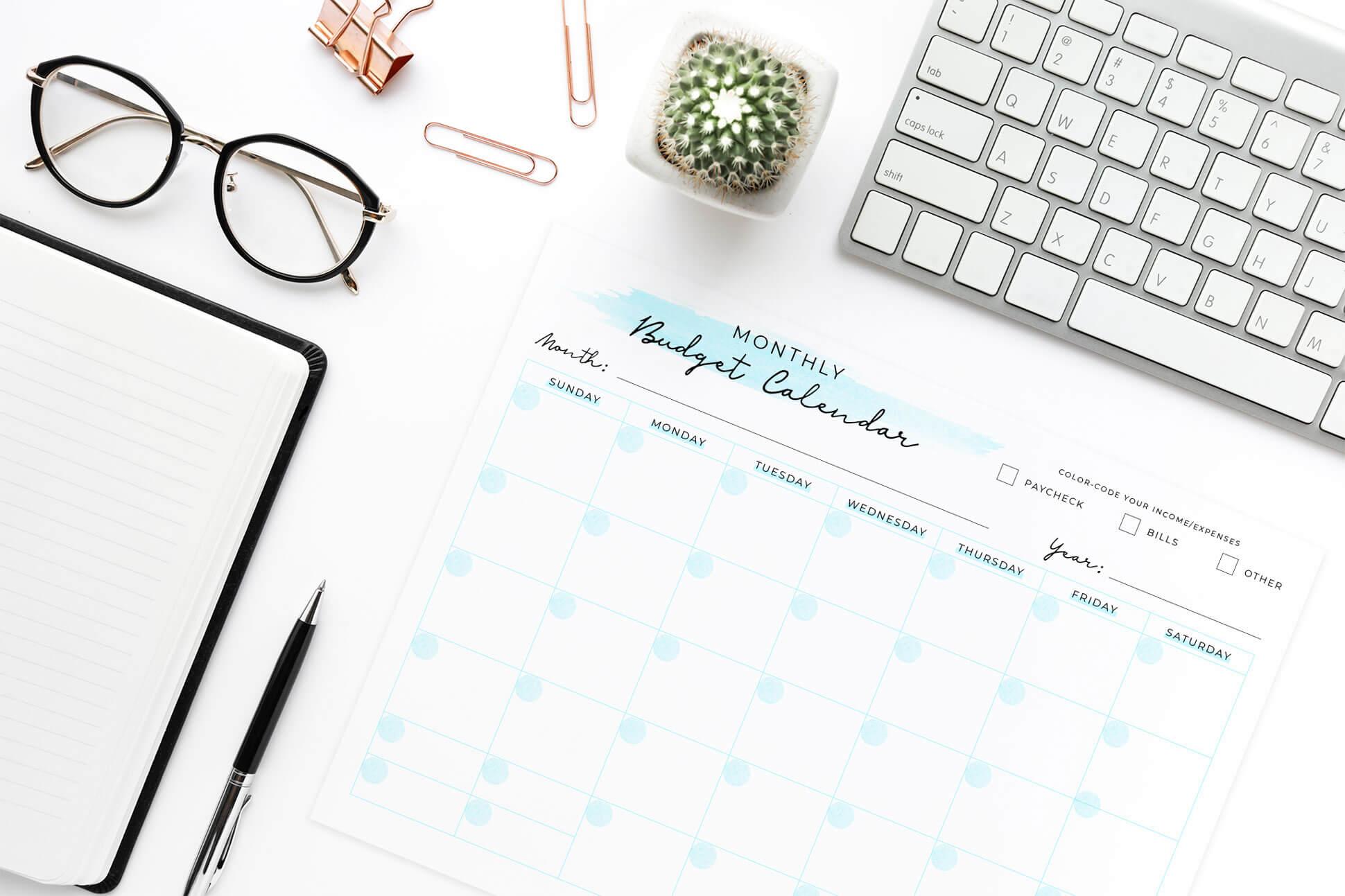 budget-calendar-sheet