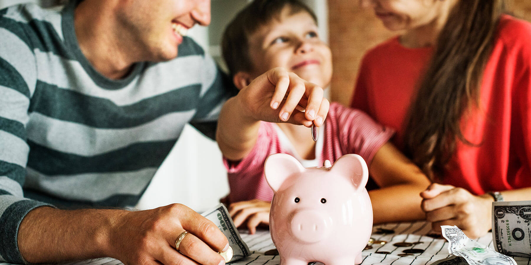 Ways kids can learn to save money