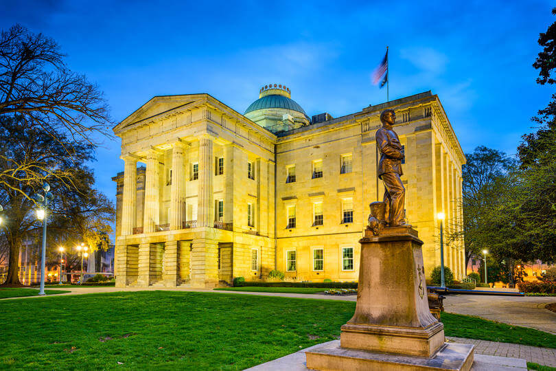 08 North Carolina Raleigh capitol EM4W1T