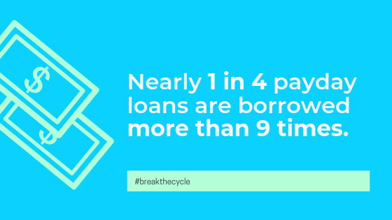 1 in 4 payday loans