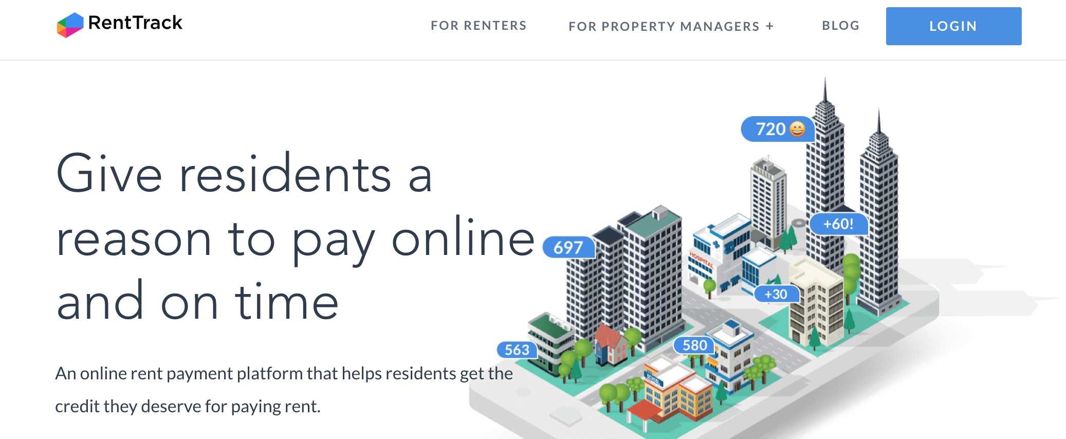 RentTrack rent reporting