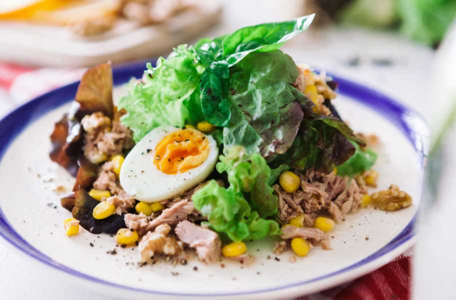 tuna salad with orange dressing salad recipe