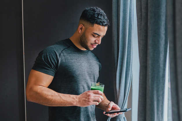 raphael-app-fitness green smoothie