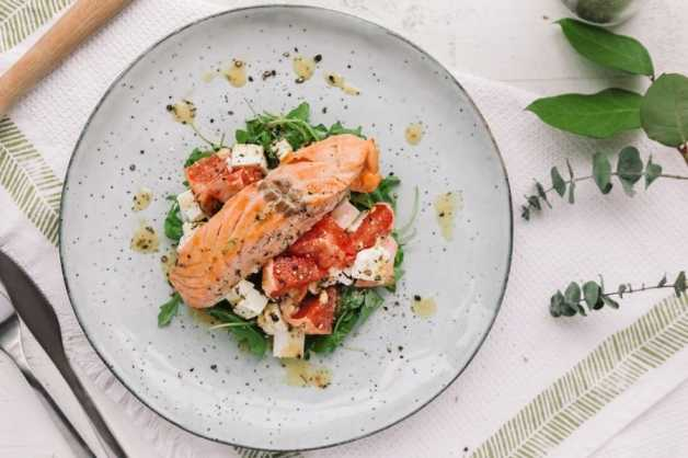 citrus salmon salad wild simon