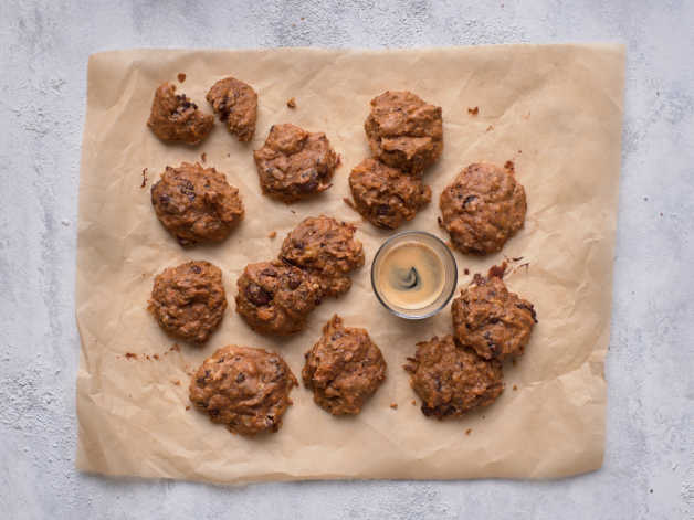 sweet potato banana cookies